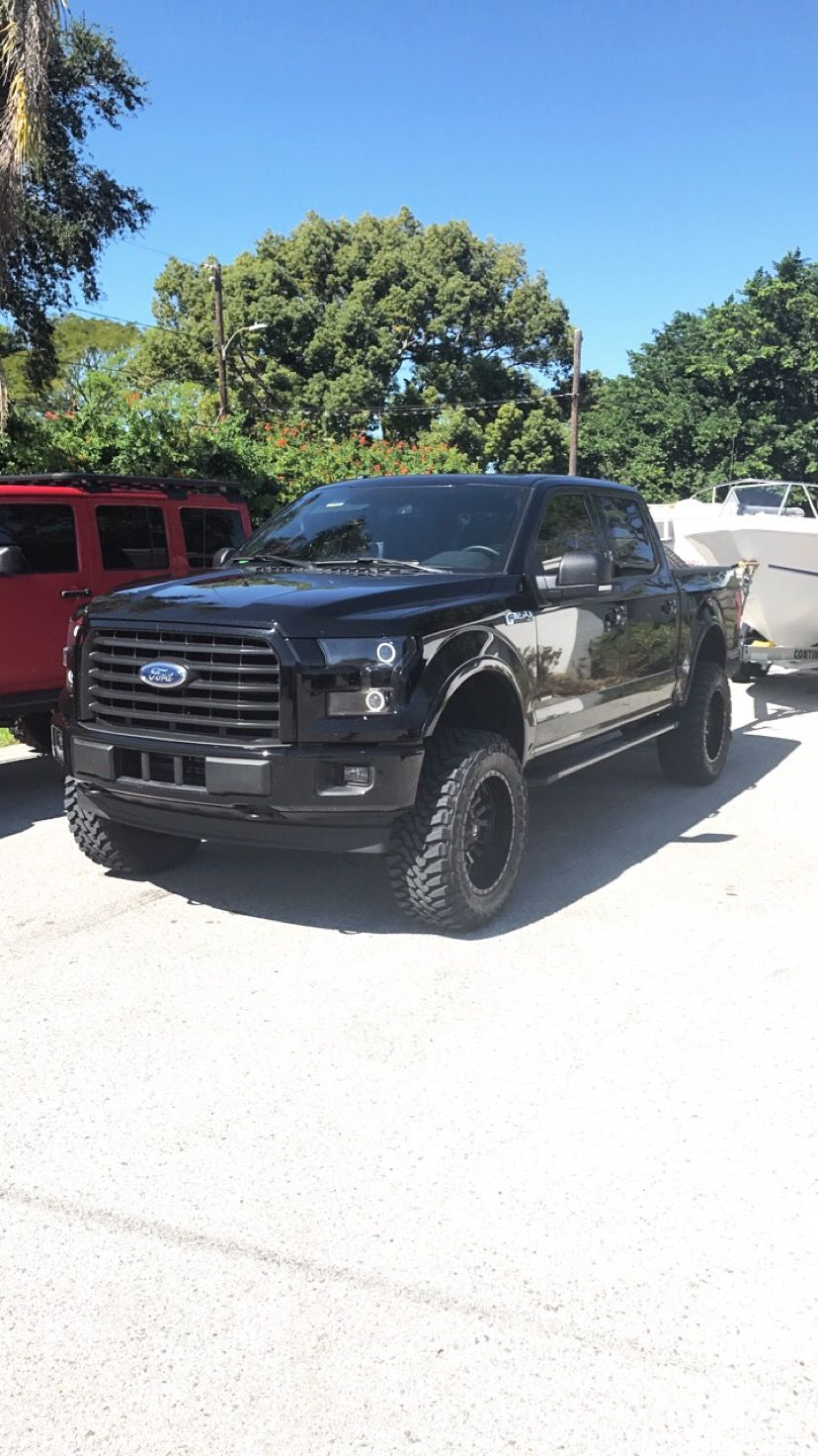 2017 Ford F 150 Xlt Sport 4x4 6 Lift On 35 Toyo Tires And 20x10