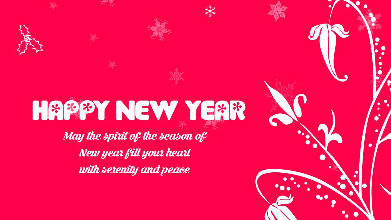 new year wishes 2017 may the spirit of the season of new year fill your heart with serenity and peace 2017 newyearresolution happynewyear
