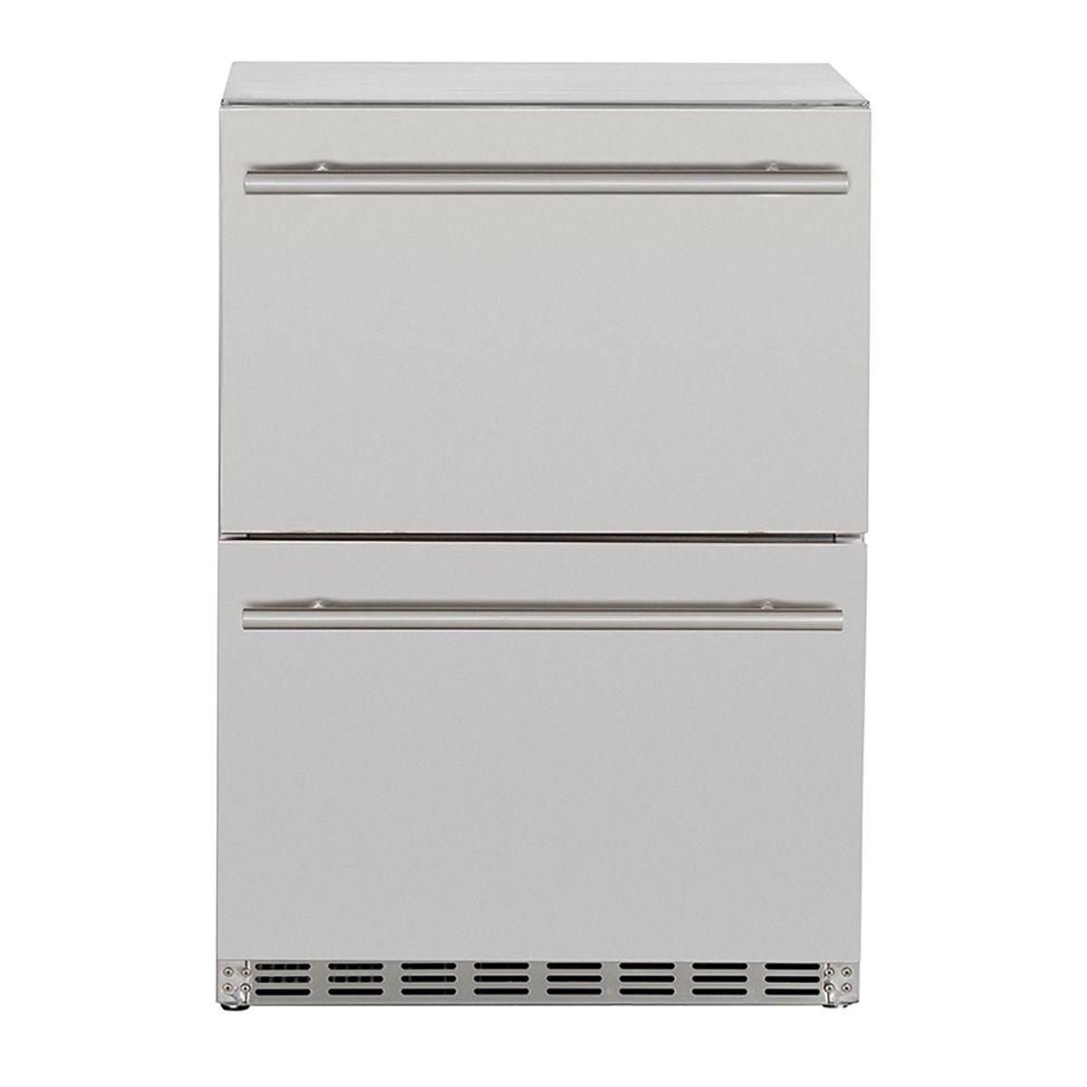 Summerset 24 5 3c Deluxe Outdoor Rated 2 Drawer Refrigerator In 2020 Refrigerator Drawers Refrigerator Drawers