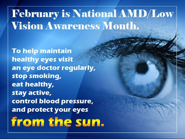 Image result for amd low vision awareness month