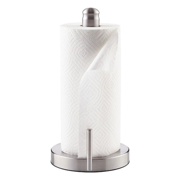Stainless Steel Perfect Tear Paper Towel Holder Paper Towel