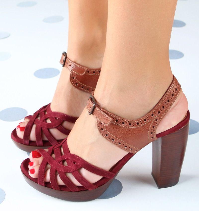 ama bordeaux sandals chie mihara shop online. Black Bedroom Furniture Sets. Home Design Ideas
