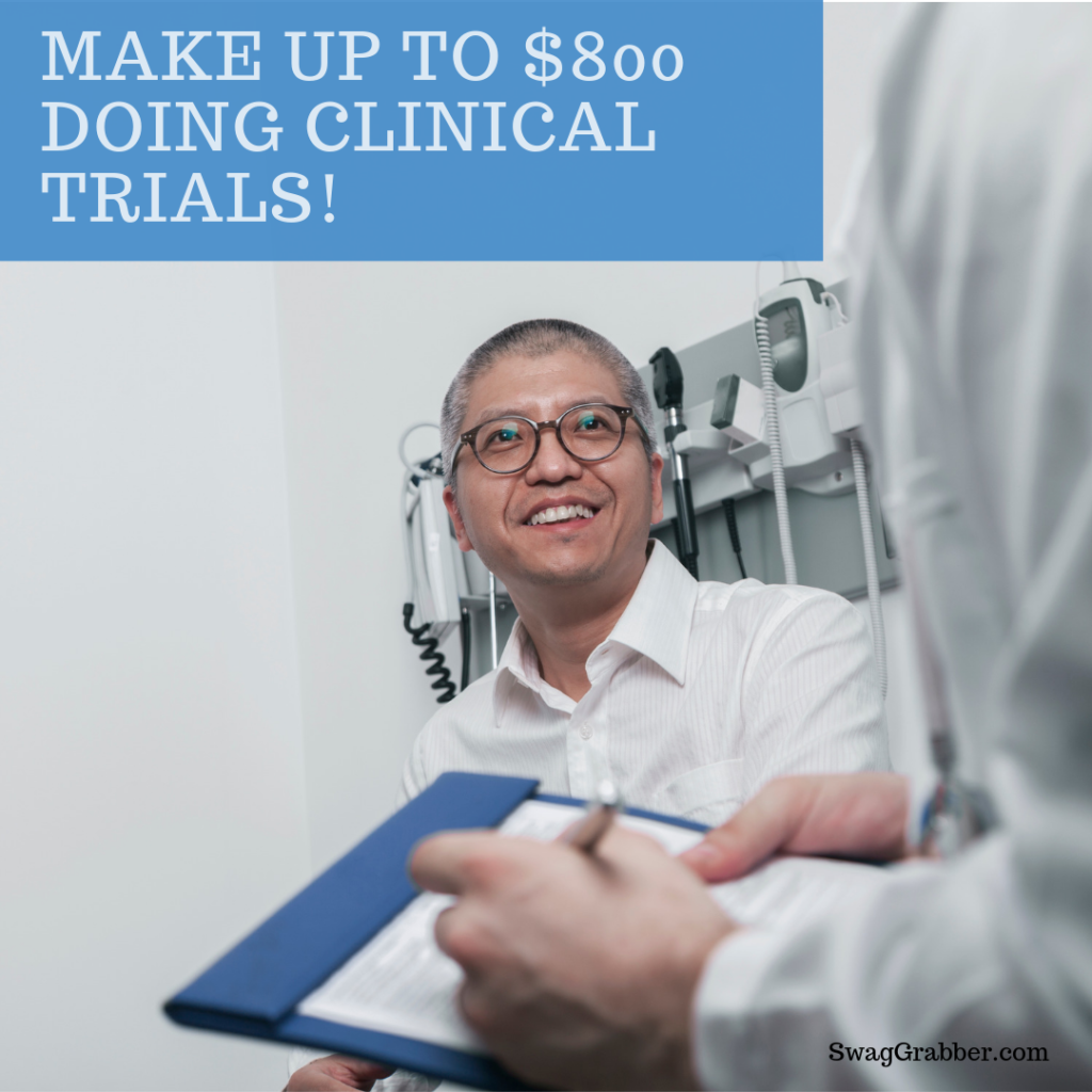 Make Up To 800 Doing Clinical Trials 8 000 Possible