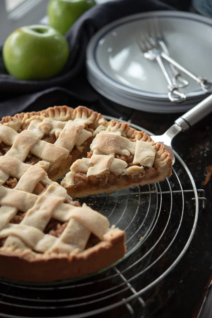 Polish Apple Pie Szarlotka Recipe From Beyond Kimchee In 2021 Apple Pie Food Pastry