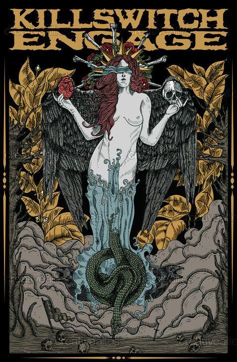 Killswitch Engage | Band Stuff in 2019 | Metal band logos