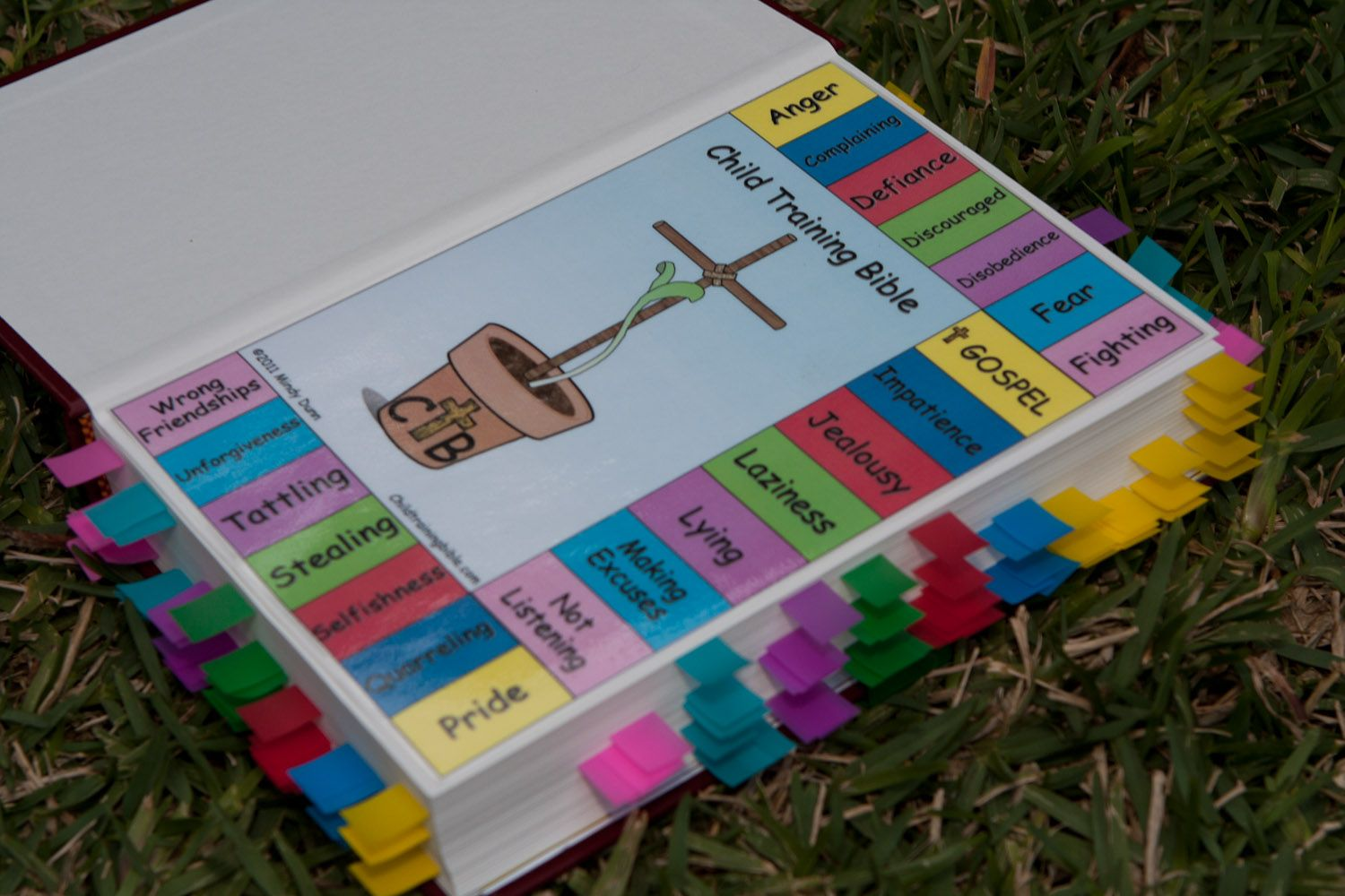 The Front Key of the Child Training Bible