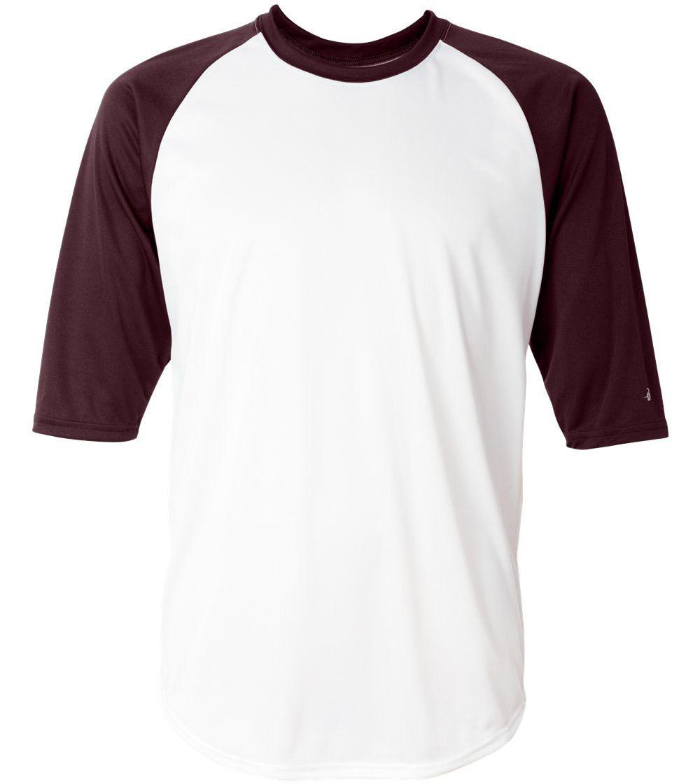 Design t shirt baseball - Baseball T Shirt Model Basic