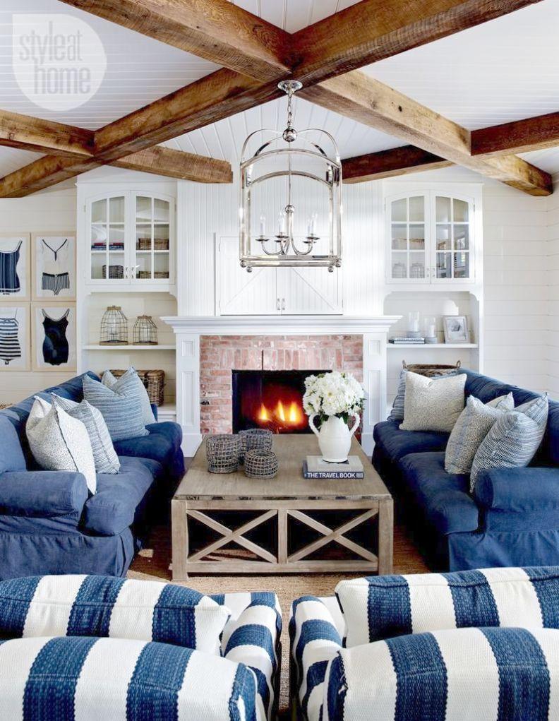 Beach House Home Decor Coastal Style Prints Cottage Living Rooms