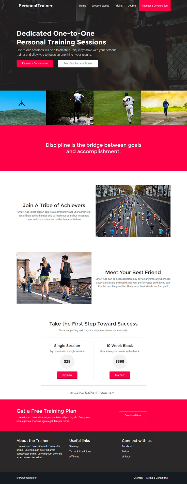 Fabricky Landing Page Bootstrap Templates Bootstrap
