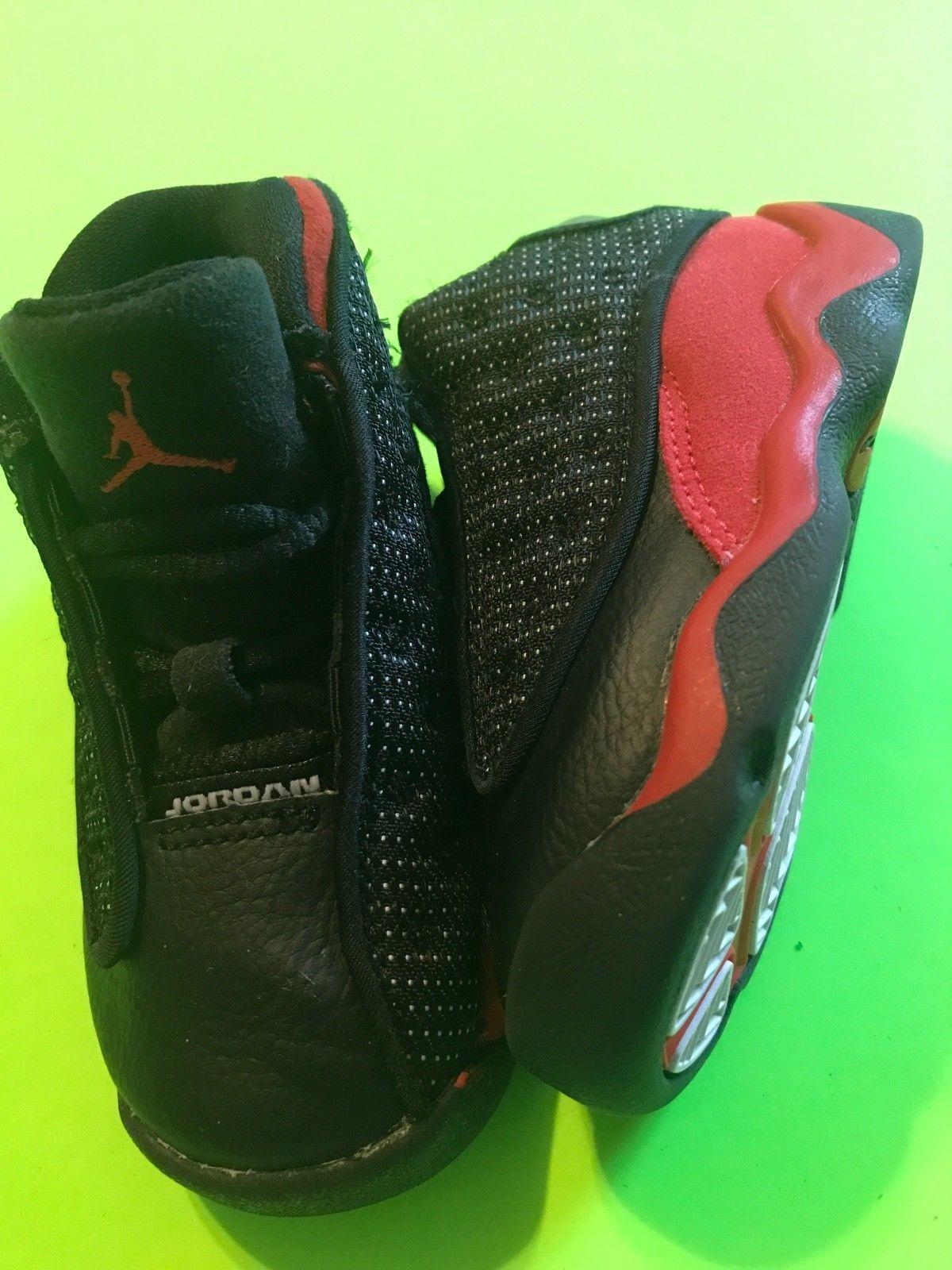 promo code 2b9e1 4b87d Nike Air Jordan Retro XIII (13) BRED Boys Toddler Shoes Size ...