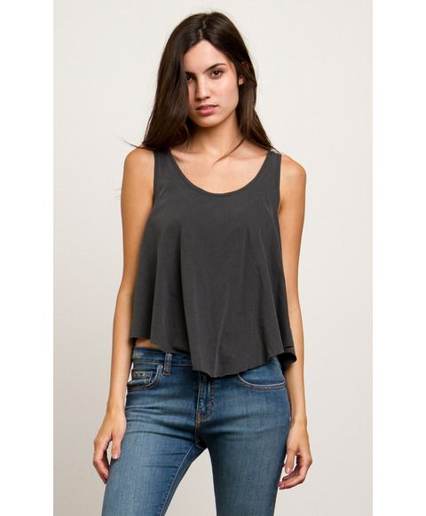drape top sage dusty in silk clothing product normal green tank olivia drapes overlap alice lyst