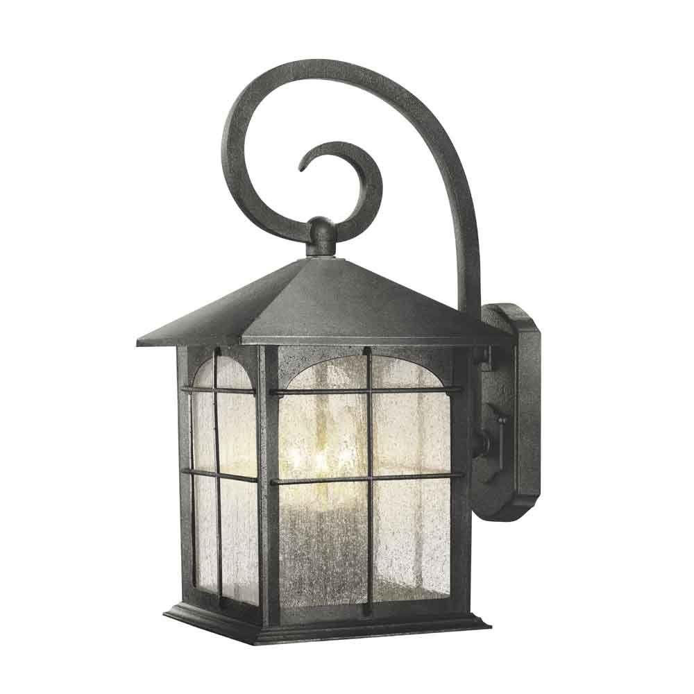 Brimfield light aged iron outdoor wall lantern outdoor wall