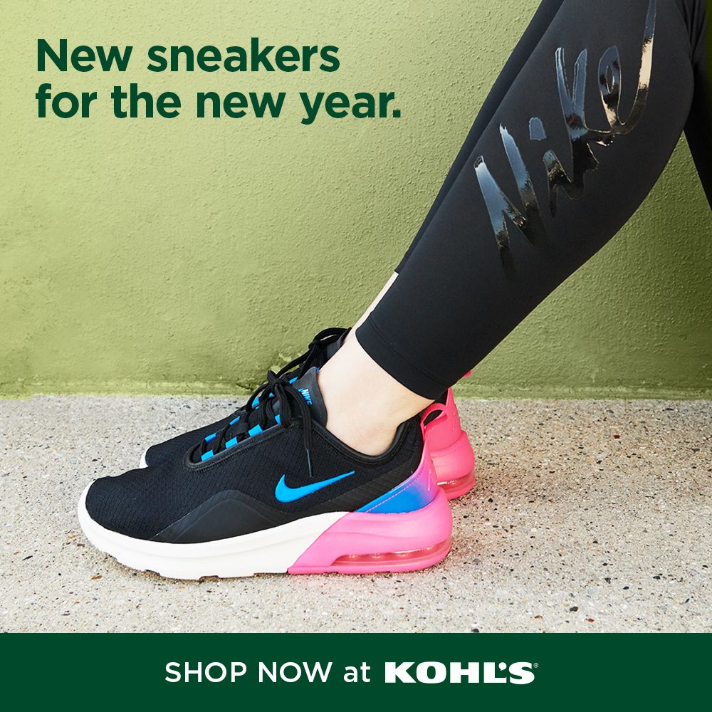 Find sneakers they'll love at Kohl's