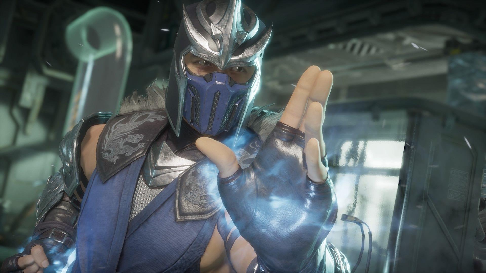 Sub-Zero and Scorpion (split view) | Mortal kombat