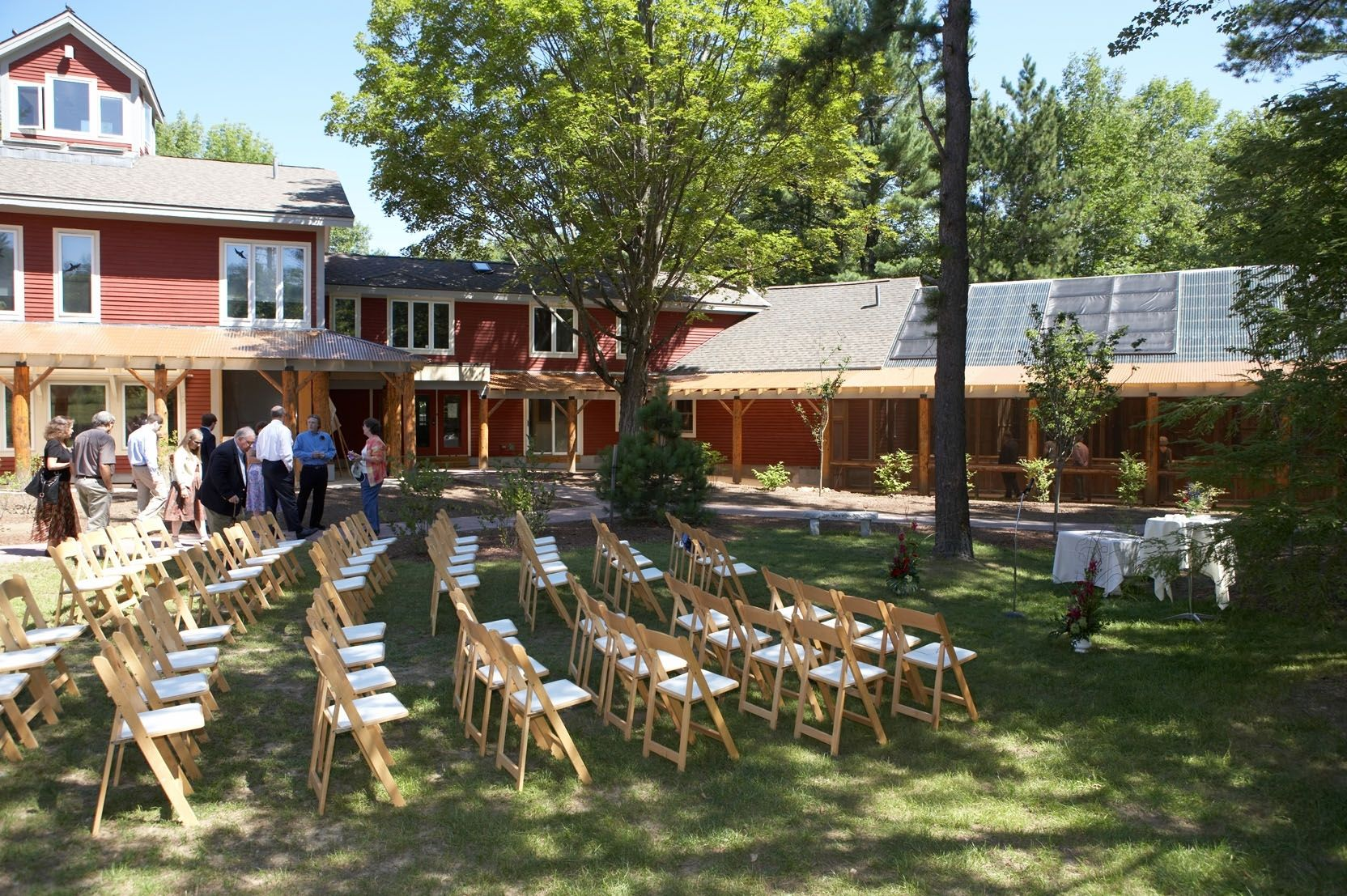 Concord Wedding Center.Nh Audubon Mclane Center Concord Nh Offsite Locations Table