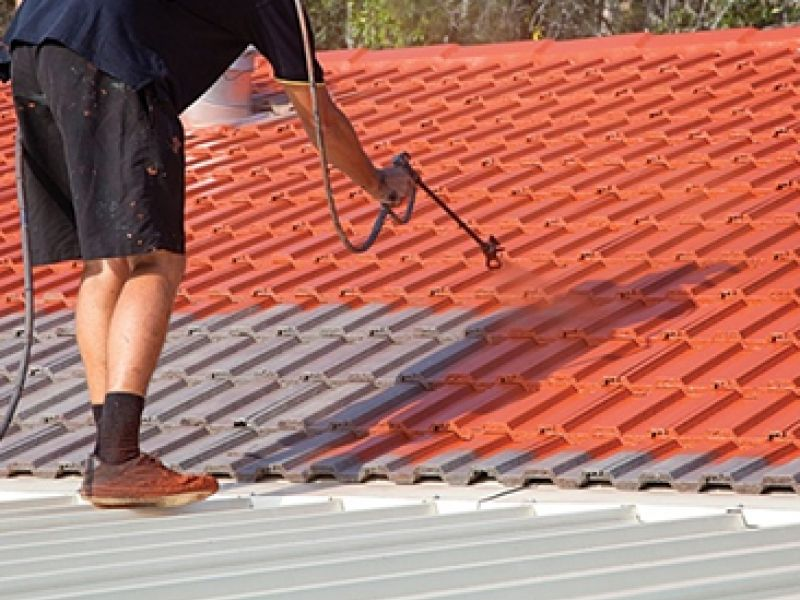 Roof Painting Service In Australia At Very Affordable Cost Roof Doctors Roof Paint Roof Restoration Roof Cleaning