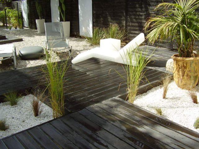 Un jardin zen en noir et blanc page 2 jardin for Creer mini jardin zen