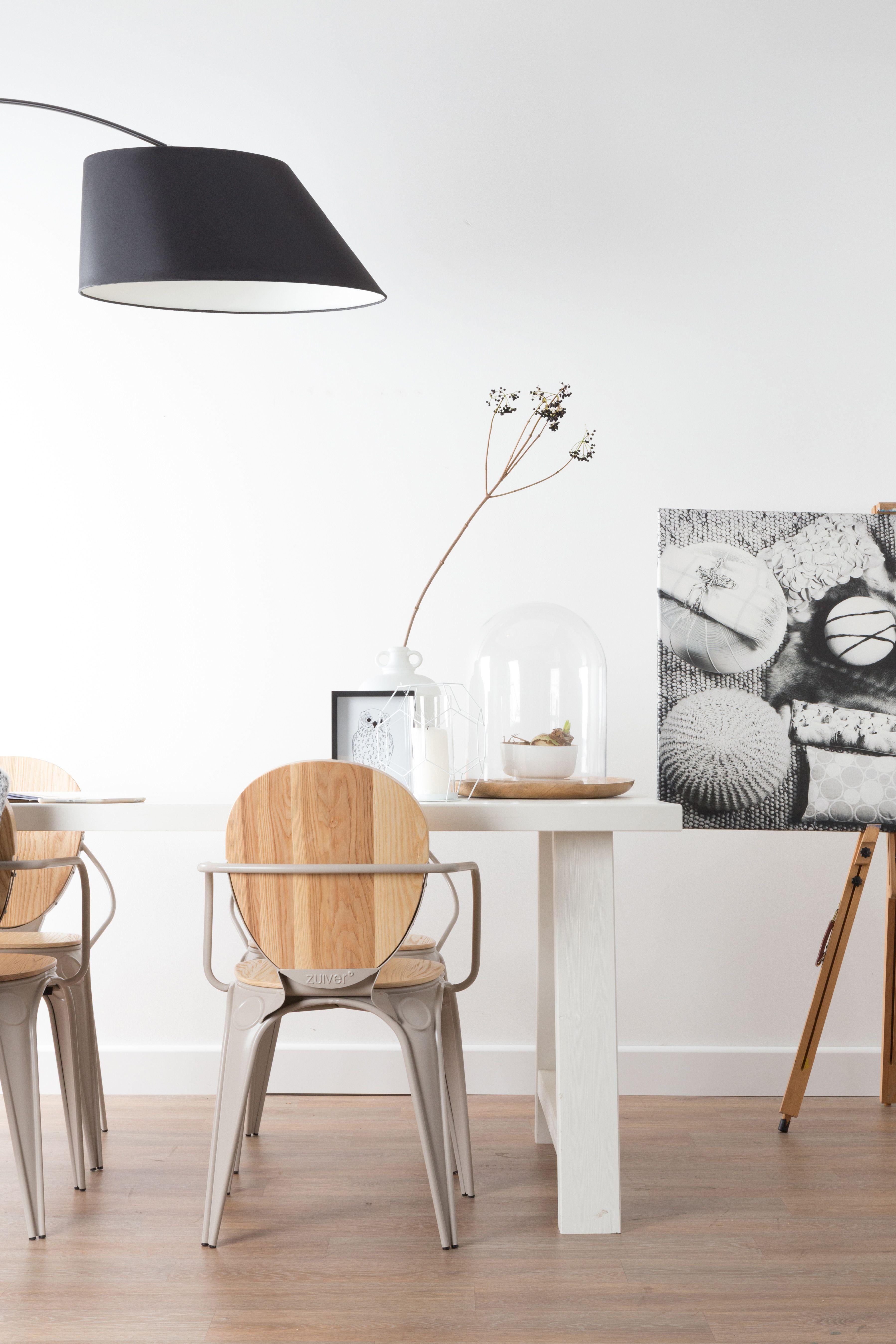 La Marque De Design Hollandaise Zuiver Nous Inspire Avec Son Mobilier Moderne Au Style Scandinave Le Lampadaire N Salon Maison Chaise Salle A Manger Lampe Arc