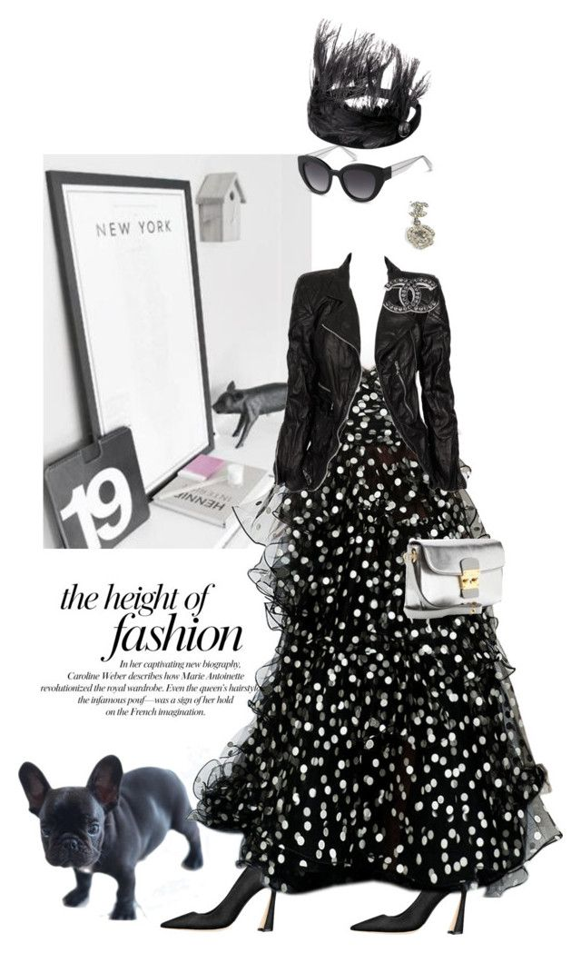 Grunge glam by pensivepeacock on Polyvore featuring polyvore fashion style Marc Jacobs Miu Miu Cole Haan Oscar de la Renta Louis Vuitton clothing