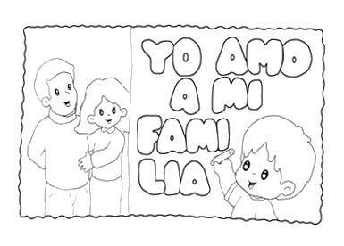 Dibujos Para Colorear En El Dia De La Familia Actividades De La Familia Dia De La Familia Actividades Para Preescolar