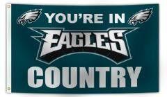 Philadelphia Eagles Deluxe Country Flag
