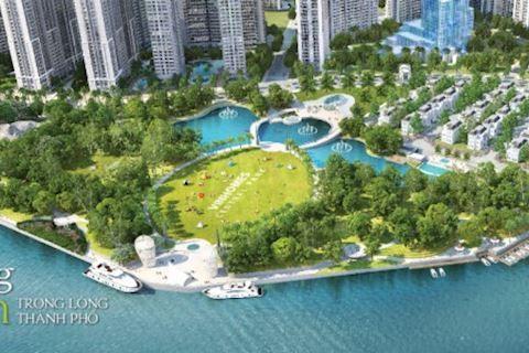 The Park 1 - Khu đô thị Vinhomes Central Park (Vinhomes Tân Cảng)
