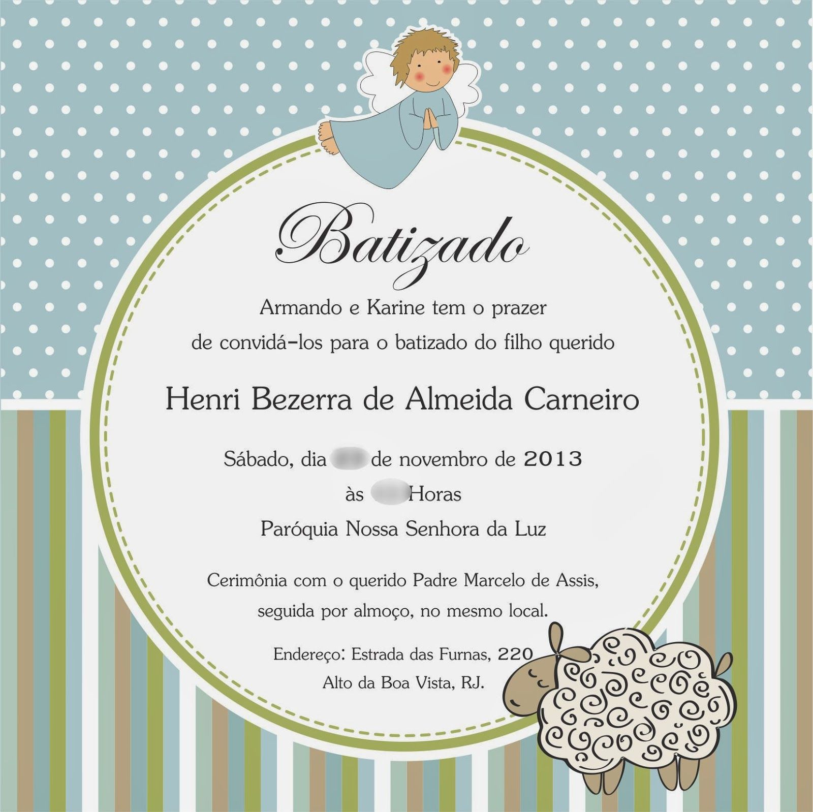 Baptism Invitation Quotes as best invitation layout