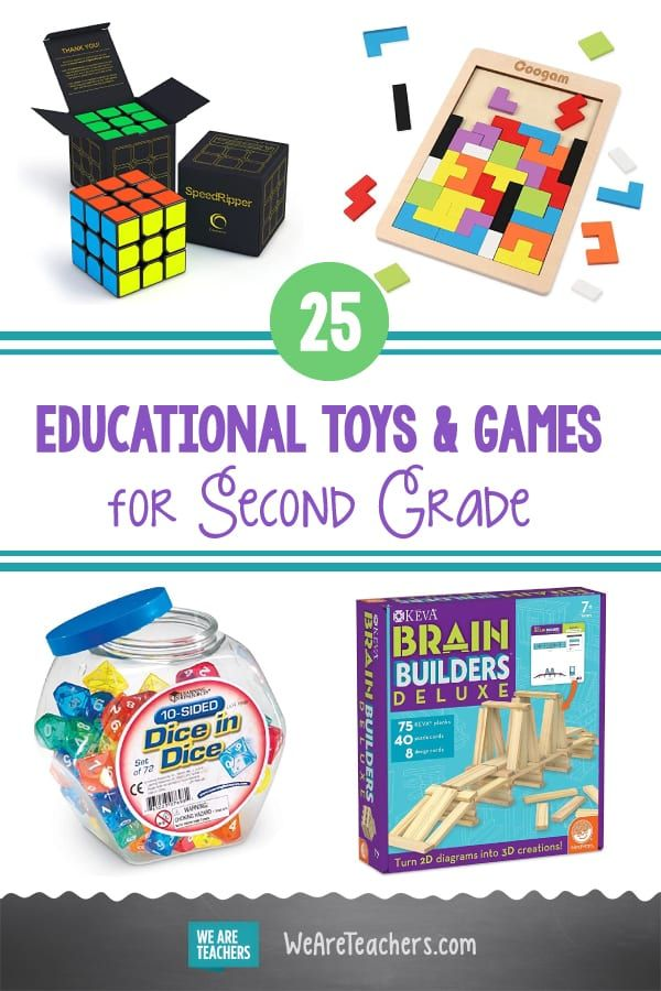 25 Best Educational Toys and Games for Second Grade in ...