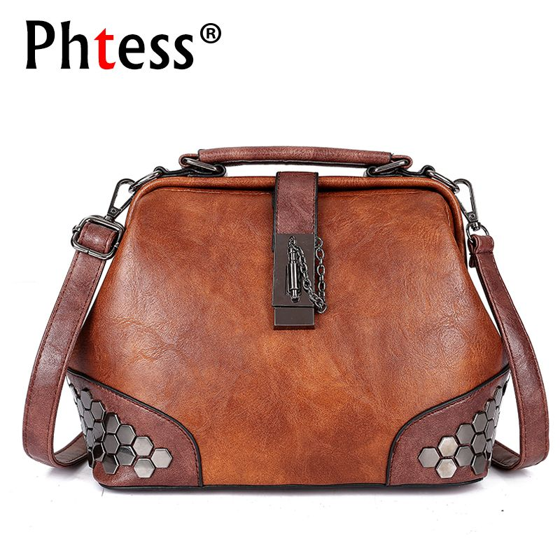e924af017e 2018 Women Leather Handbags Luxury Brand Crossbody Bags for Women Sac A Main  Female Vintage Shoulder Bags Shell Ladies Hand Bag Review