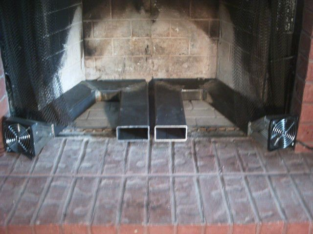 Custom Twin Blower Fireplace Heat Exchanger Home