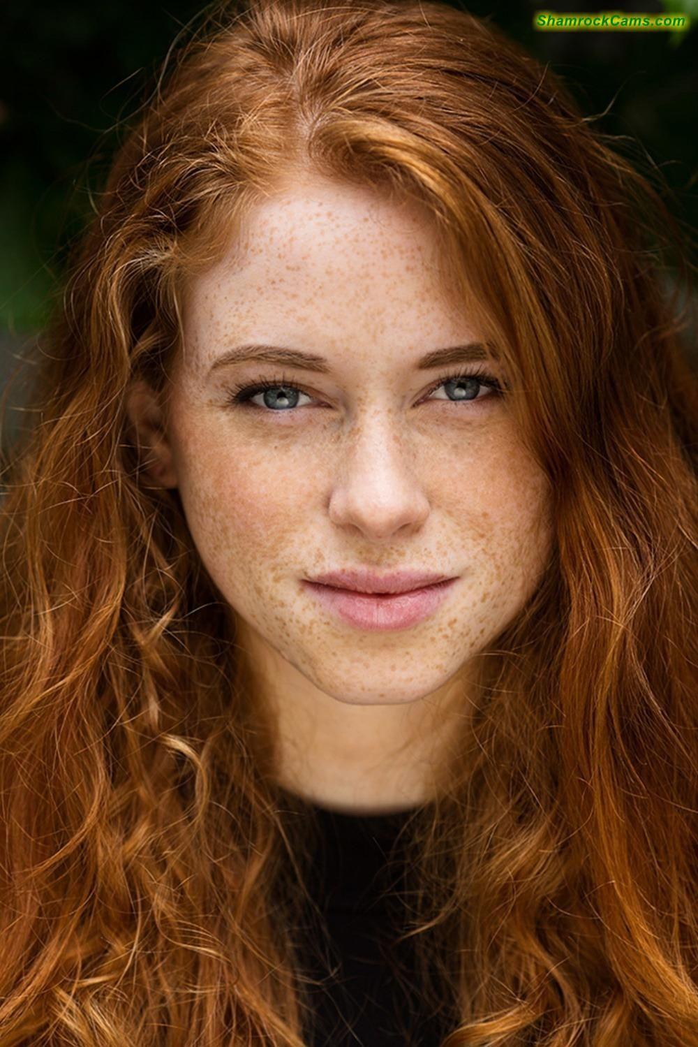 Pale redhead pic foto 33