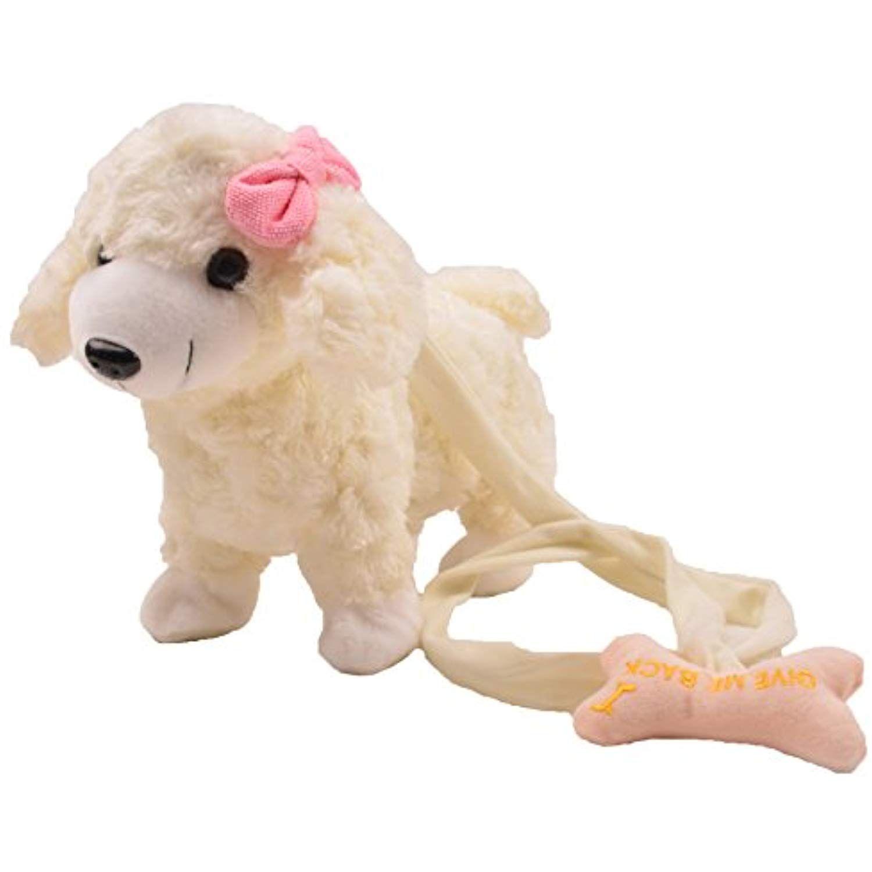 Sealive 11 8 Cute Musical Puppy Electric Leash Dog Teddy Dog