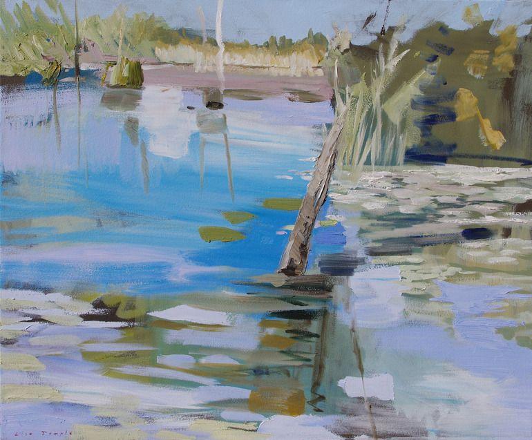 "Saatchi Online Artist: Lise Temple; Oil 2012 Painting ""Renewal"""