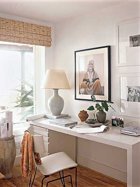 Love this west coast beachy look...And the Marilyn print!