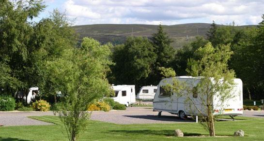 Culloden Moor Caravan Club Site