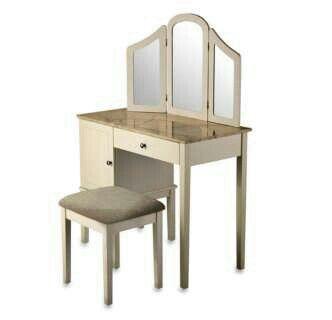 Darlington Vanity Stool Bed Bath Beyond Stylish Vanity Vanity Set