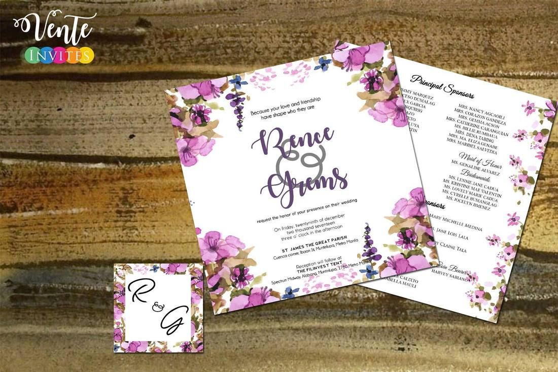 20 Format Of Civil Wedding Invitation Wording Philippines And Review Di 2020