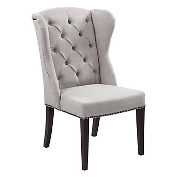 #ZGallerie $369 Archer Chair-- Two of these would fit perfectly in my new bedroom with a little table in the middle by the windows