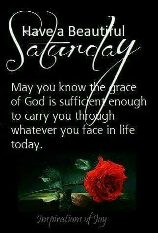 Saturday Quotes Mesmerizing Have A Beautiful Saturday  Thought For Today  Pinterest