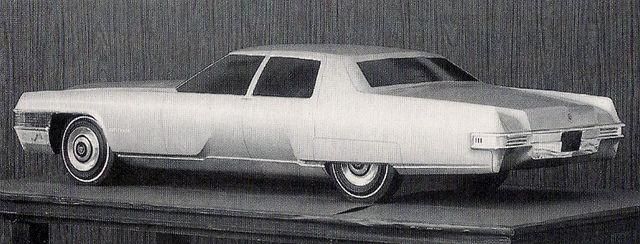 Cadillac Sedan De Ville Advanced Styling Model