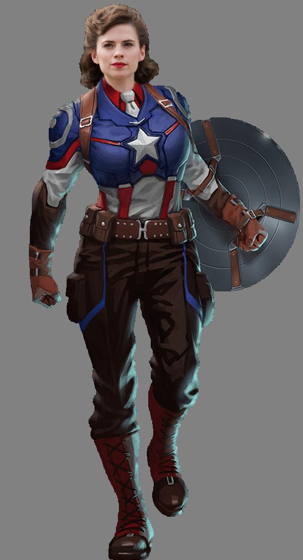 Peggy In Captain America