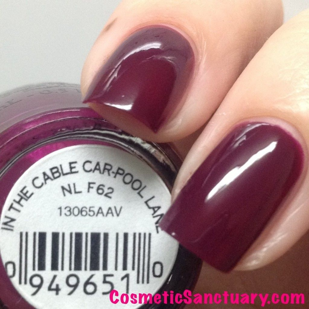 OPI San Francisco Collection Swatches And Review
