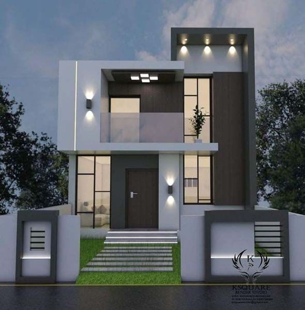 30 Charming Minimalist House Plan Ideas That You Can Make Inspiration Bungalow House Design Small House Elevation Design Duplex House Plans