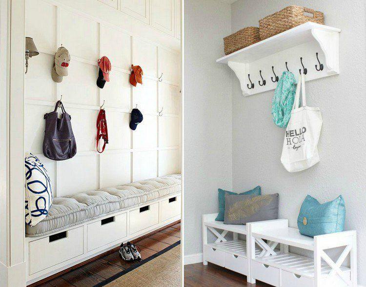 40 id es astucieuses sur l am nagement entr e fonctionnel. Black Bedroom Furniture Sets. Home Design Ideas