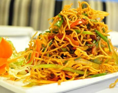 Chinese bhel indian fast food recipe vegetarian snack recipe by food forumfinder Image collections