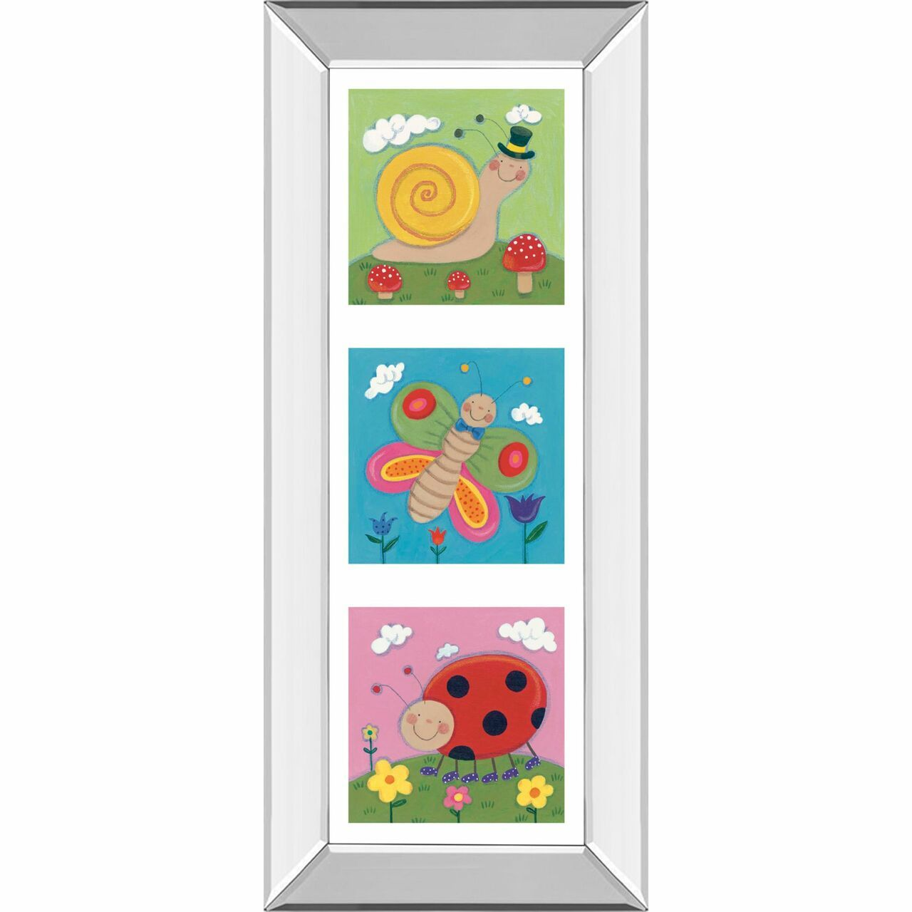 Adorn your walls with this amazing wall decoration that will surely stand-out in any living space. This gorgeous decoration is elegantly framed for your living room or family room. Each piece is meticulously crafted for long-lasting durability and beauty. Features: Artistic piece and wall decorationGarden Party I framed wall art by Sophie HardingMade in the USA Scratch resistant MDF Ready to hang with all the hardware pre-attachedRecommended for indoor use Dimensions: 42