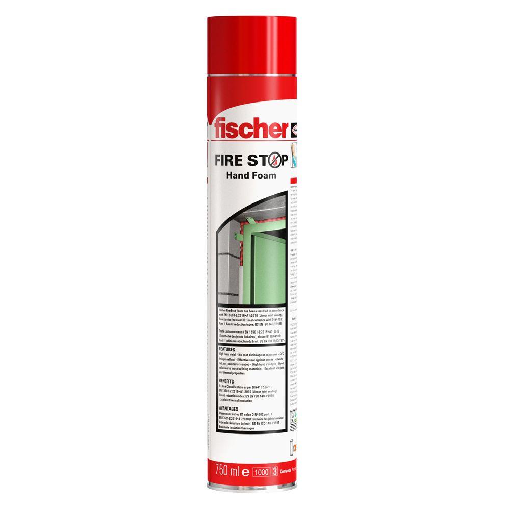 Fischer Firestop Foam Hand Foam Polyurethane Foam The Cure