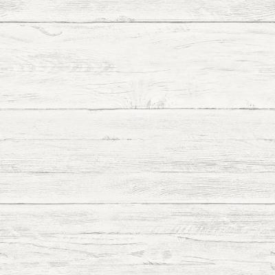Nuwallpaper Shiplap Peel And Stick Vinyl Strippable Wallpaper Covers 30 75 Sq Ft Nu2187 The Home Depot Wood Wallpaper Wood Feature Wall Peel And Stick Wallpaper