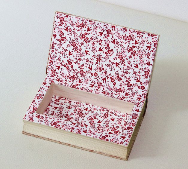 Kisten & Boxen - Buchbox mit Magnetverschluss - ein Designerstück von Buchkiste bei DaWanda