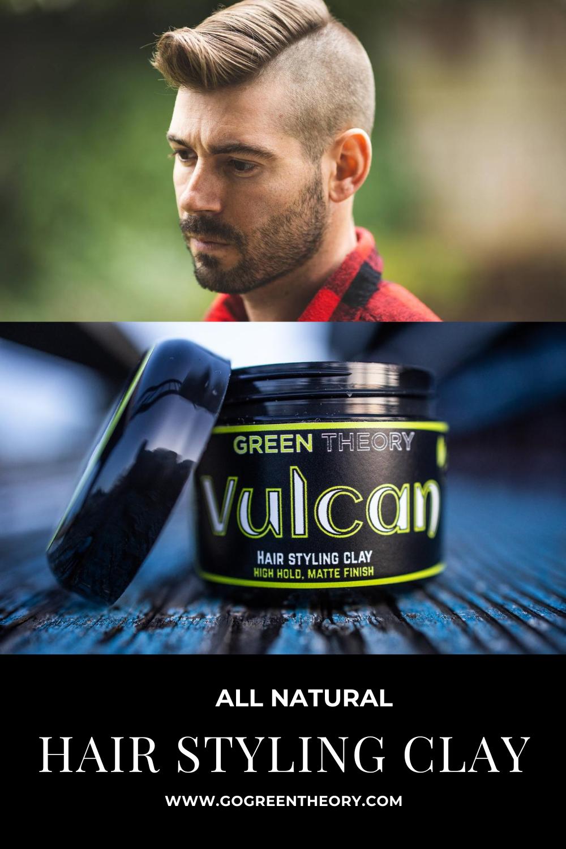 Vulcan Natural Hair Styling Clay In 2020 Natural Hair Styles Reduce Hair Loss Hair Clay